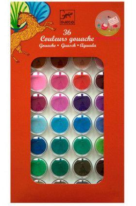 Djeco Paints 36 Colours