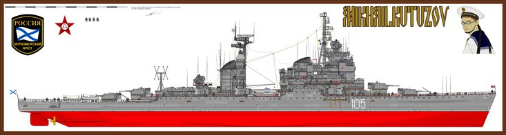 Soviet Sverdlov cruiser '' Mikhail Kutuzov'' by Kara-ALVAMA on DeviantArt