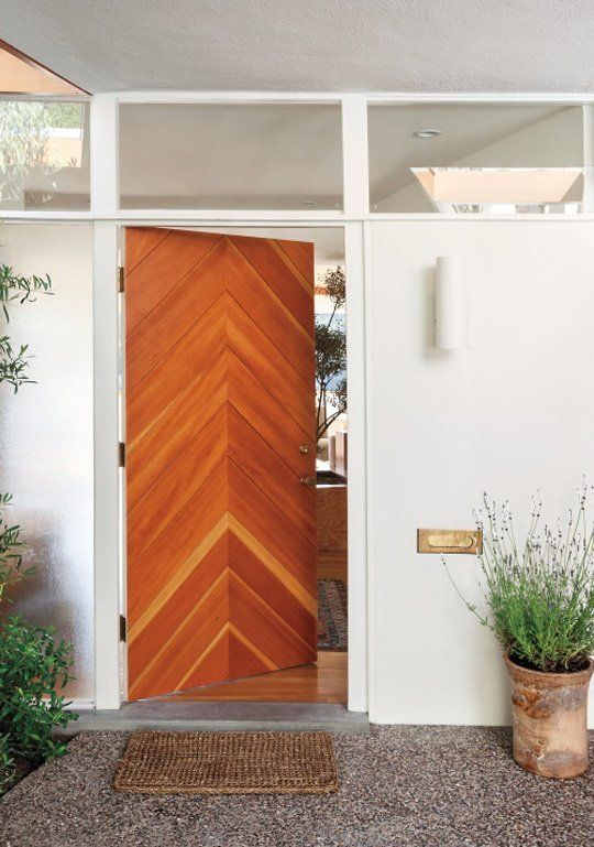 Design Inspiration: 10 So-Good Wood Chevron Designs