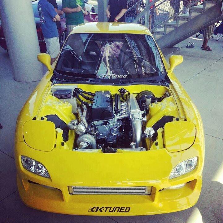K20 Motor RX7? Hell Ya