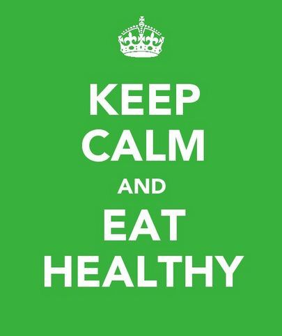 how to keep eating healthy