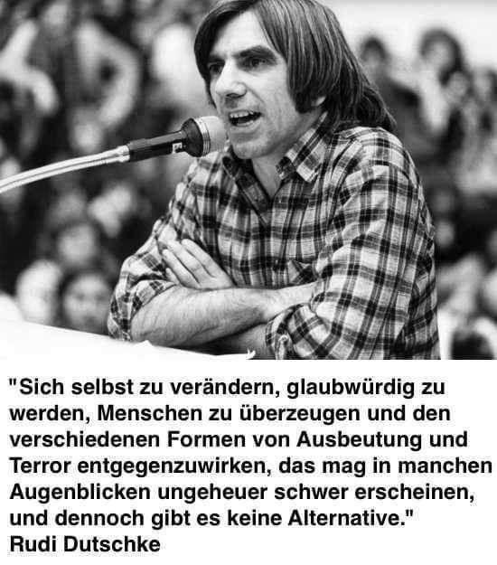 Rudi Dutschke: Alternativlos
