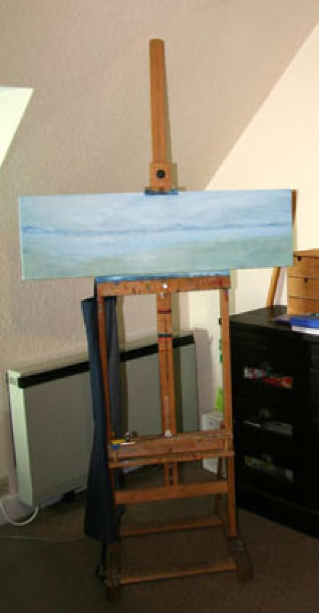 H Frame Studio Easel - WoodWorking Projects & Plans