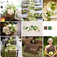 18 best Green and Brown Wedding images on Pinterest | Green weddings ...