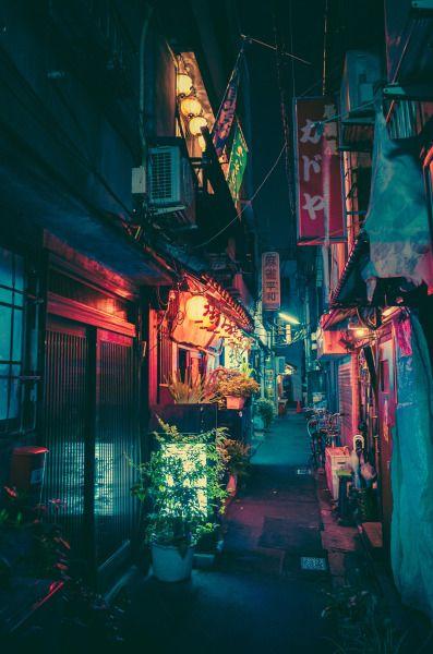 luzes quentes num corredor frio.