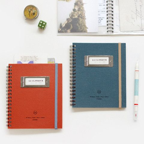 Webshop with cute notebooks, stickers, etc.