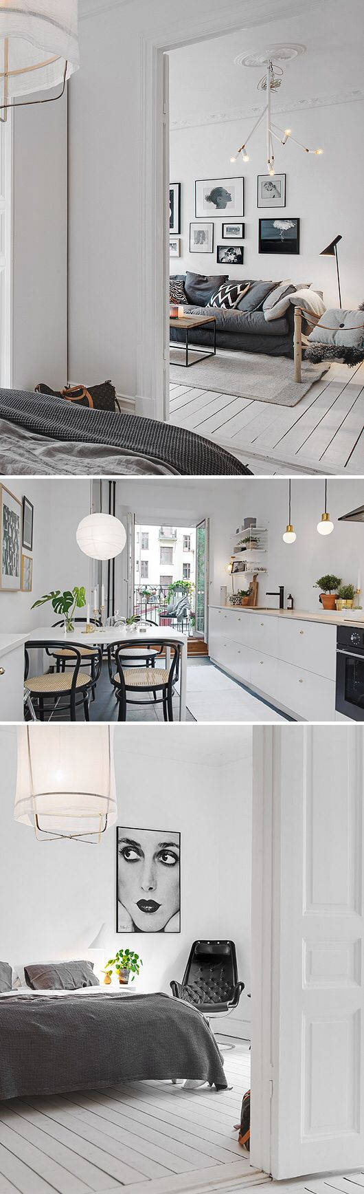 White Monochrome Style Styling Home House Interior Clean Fresh Scandi Basic Decor Trend Design Stylist