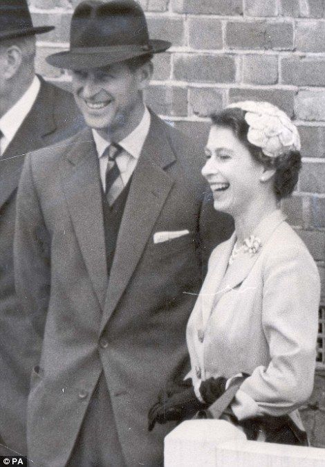 1954: She is coming to the end of her first year as Queen & the Duke of Edinburgh has been away serving in the Royal Air Force. Queen Elizabeth II (Elizabeth Alexandra Mary) (1926-living2013) UK & husband Prince Phillip Duke of Edinburgh (Philip Mountbatten-born Prince Philip) (1921-living2013) Greece by unknown artist.