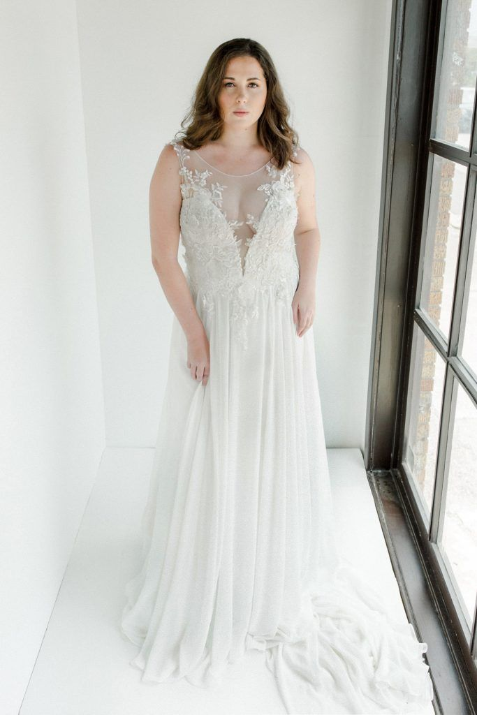 Nicky Designer Claire Patterson S Plus Size Bridal Dress