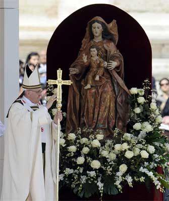 Homilía mariana del Papa Francisco, 31 mayo 2013
