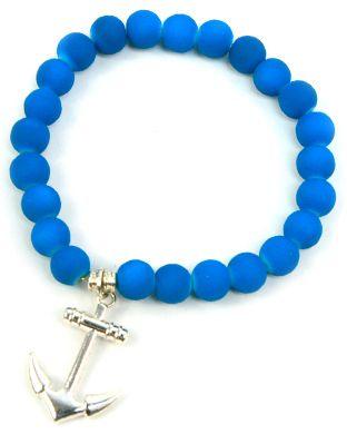 pulsera azul fluorescente  / Joyería / Moda femenina / Accesorios para mujer