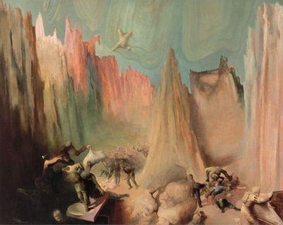 Wilhelm Freddie (1909-95), The Day D, SMK - København