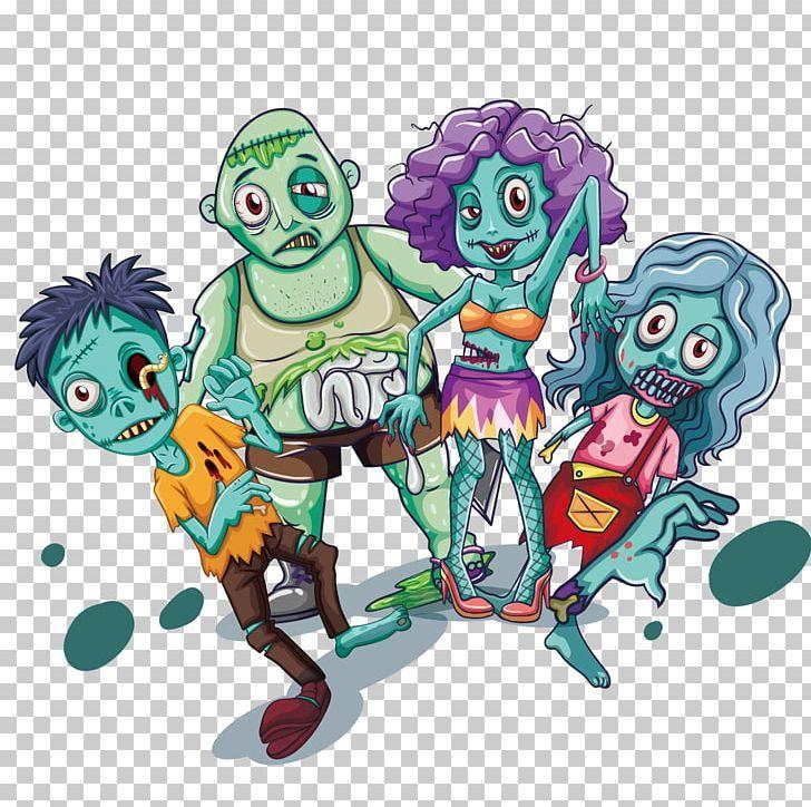 Illustration Png Art Cartoon Cartoon Zombie Dead Designer Graffiti Characters Zombie Cartoon Cartoon