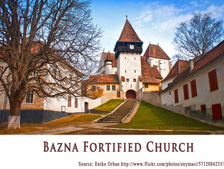 BAZNA FORTIFIED CHURCH   https://www.facebook.com/FromTransylvaniaWithLove