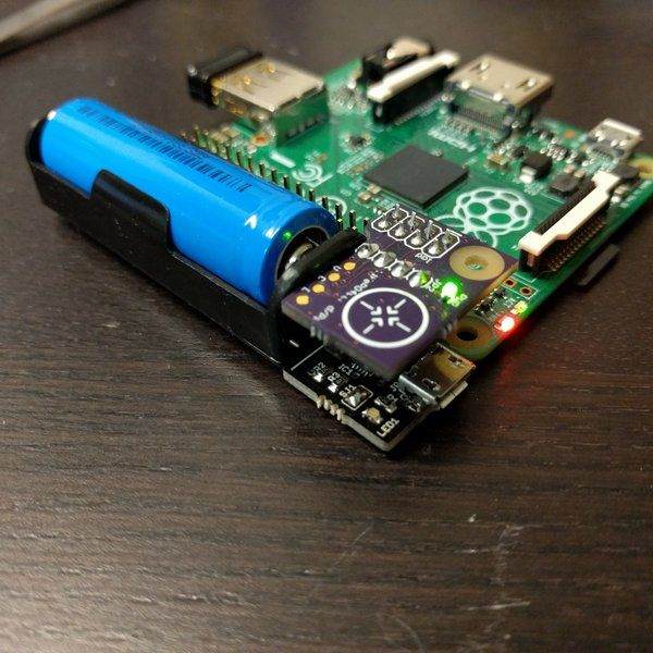 Battery Backup For The Raspberry Pi