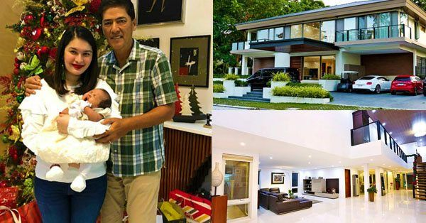 Vic Sotto and Pauleen Lunas home in Laguna