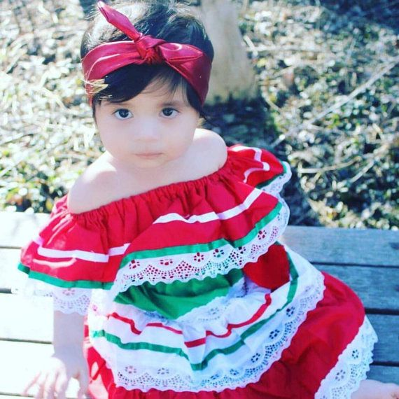 Traditional Mexican Baby/Toddler Dress by LoveSofiaShop on Etsy