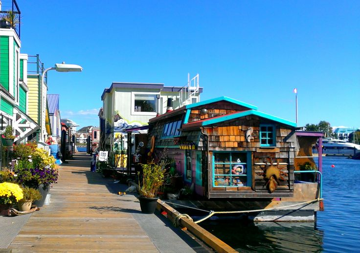 Fisherman's Wharf Floating homes, Victoria. Photo taken by one of our UVic MGB students, J.C (MGB '14)