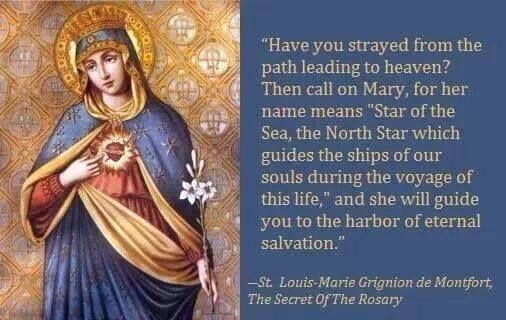 St. Louis de Montfort ~ Our Blessed Mother