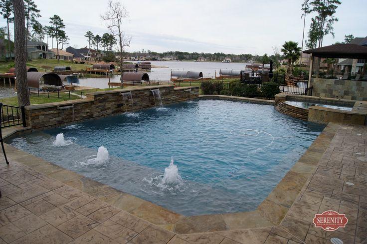 Pool Builder Serenity Pools Pool Designs Pool Design Images In Ground Swimming Pool
