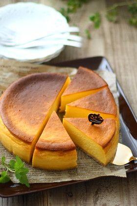 パンプキン♡チーズケーキ     《my覚書: こちらのレシピをベースに蜂蜜漬けのレモンをスライスして混ぜて作っても美味そ上白糖をメープルシロップに代用しても美味かも!( 灬˙▿˙灬 )》