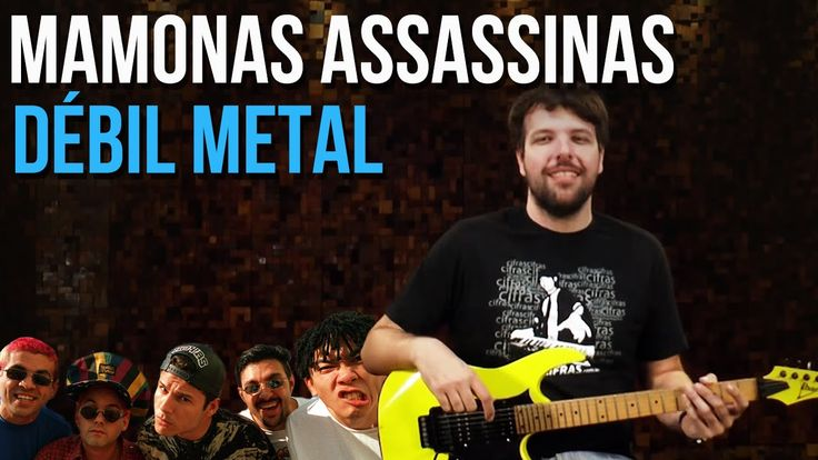 Mamonas Assassinas - Débil Metal (como tocar - aula de guitarra)