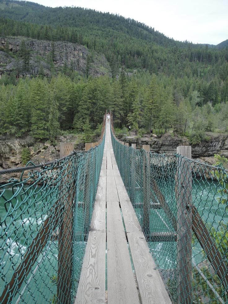 The swinging bridge MT Montana, My Montana! Pinterest