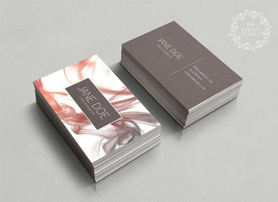 Busieness moderna tarjeta de plantilla, plantilla de tarjeta de visita personalizada, diseño tarjeta de visita prefabricados, Resumen de humo la tarjeta de visita femenina, elegante