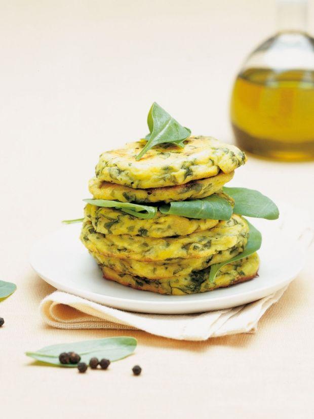 Medaglioni di spinaci al forno