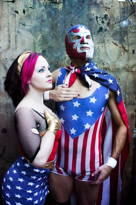 lucha libre on Independence Day!