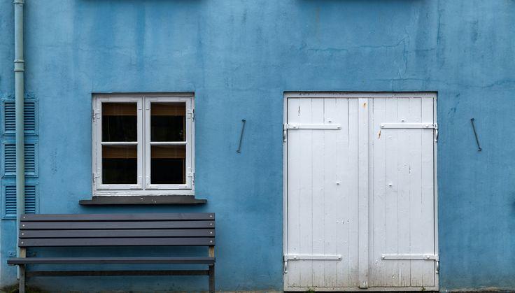 Blue Building by Eirik Sørstrømmen on 500px