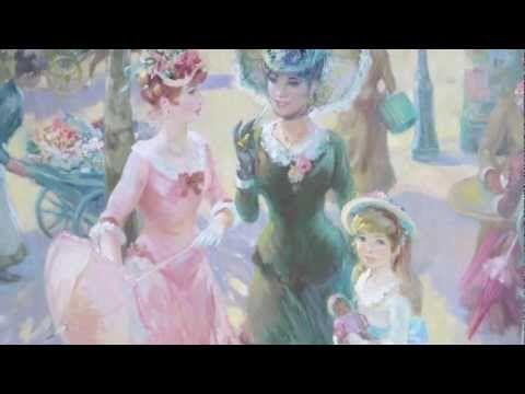 """ Buongiorno A Te "" - ( Luciano Pavarotti ) - YouTube (plus added treat of beautiful art)"