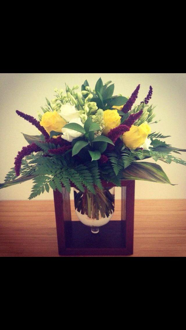 Custom made flower vase boxes