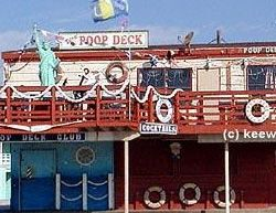 "The Poop Deck. Great views. Great people. Great fun. It's where ""the elite meet in their bare feet!"""