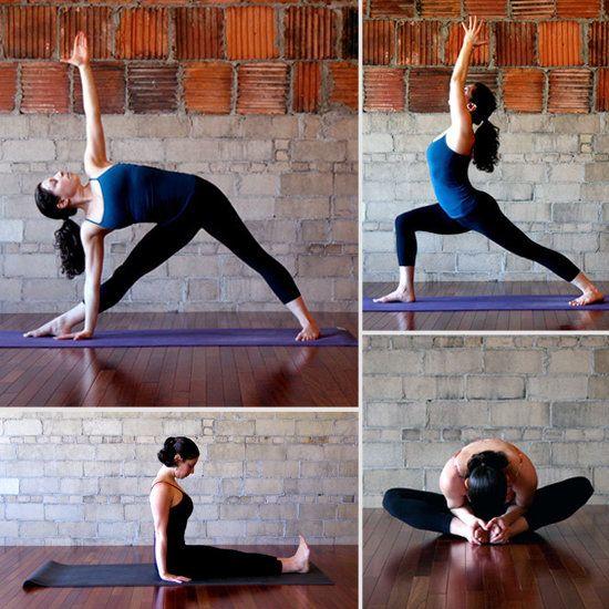 before bedtime yoga