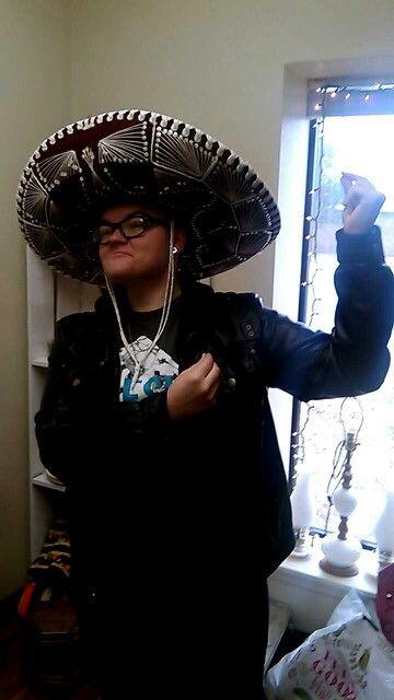 My albino Mexican step son lol