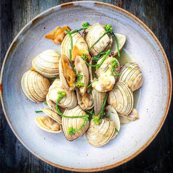 Beautiful clams, schmaltz and broccoli flowers by @sagerandwilde_paradiserow ・・・ Tag your best plating pictures with #armyofchefs to get featured. 🔪❤️ ------------------------ #foodart #truecooks #foodphoto #chefsroll #chefsofinstagram #foodphotography #hipsterfoodofficial #foodphotographer #gastroart #wildchefs #delicious #instafood #instagourmet #gourmet #theartofplating #gastronomy #foodporn #foodism #foodgasm #plating #clams #schmaltz #broccoli