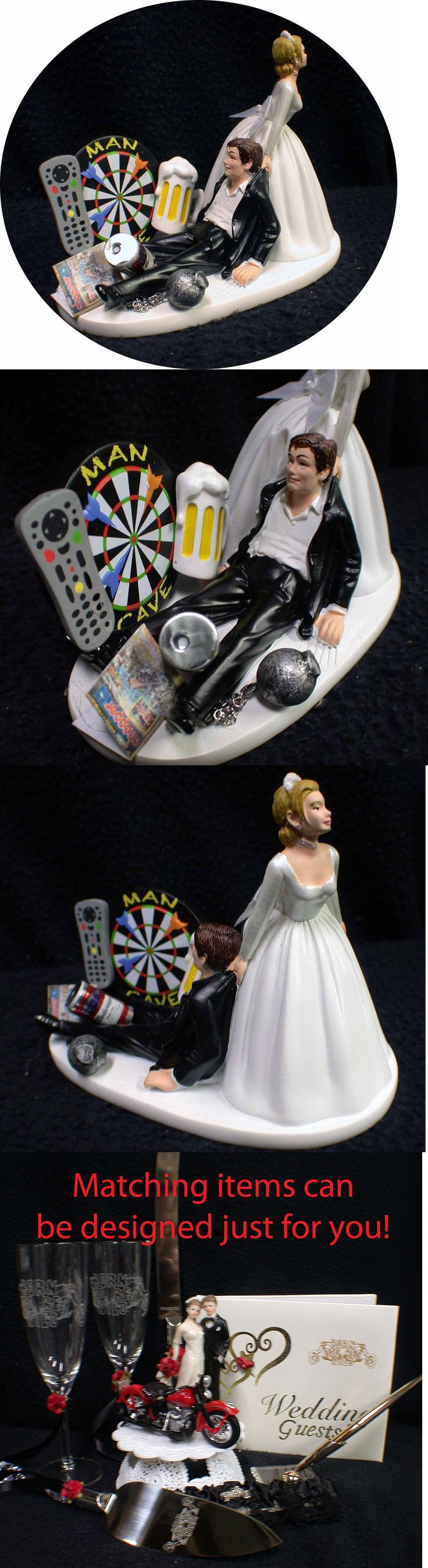 Toy box metal decor wall art shop play children store a180 ebay - Wedding Cake Toppers 20935 Man Cave Darts Board Wedding Cake Topper Bride And Groom