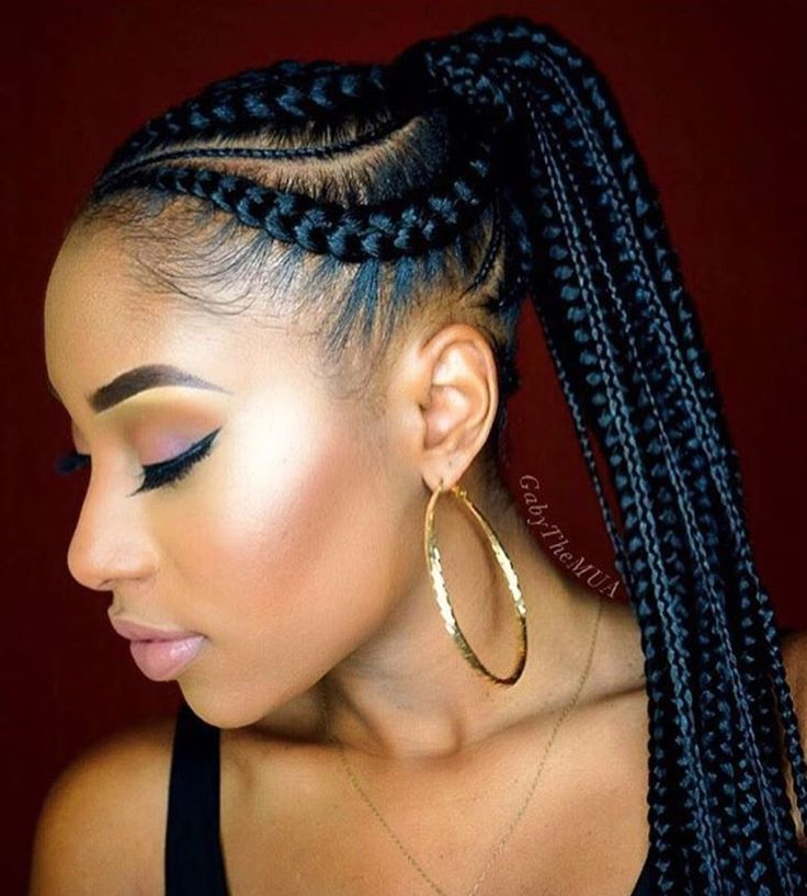 16 best BEAU images on Pinterest   Natural hair, Braids and Hair dos