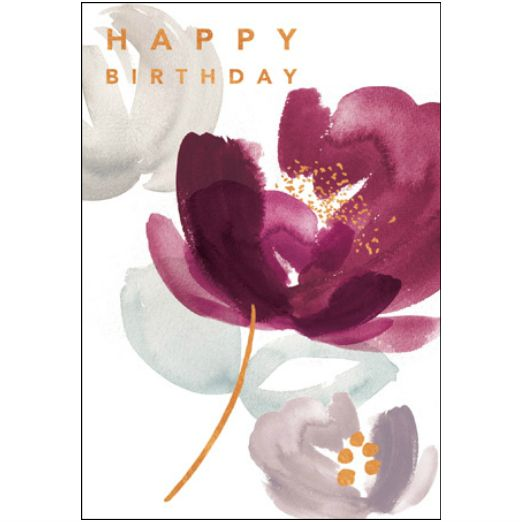 Woodmansterne Contemporary Calico Birthday card 416576