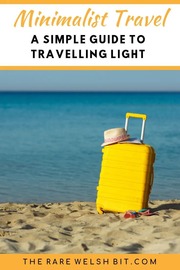 5 Tips for Travelling with Minimalist Luggage