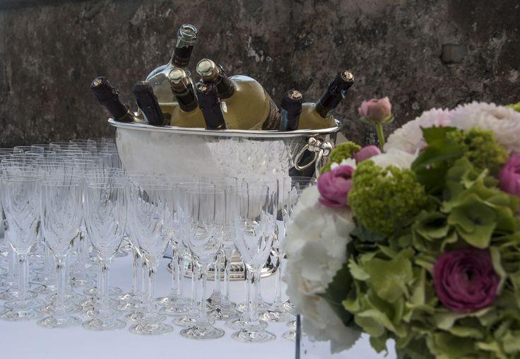 Prosecco hour at Villa di Maiano in the beautiful Tuscan hills. All Rights Reserved GUIDI LENCI www.guidilenci.com