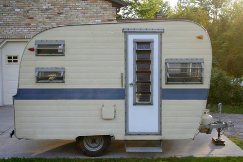 Innovative  Vintage Camper Trailers MagazineOverall Length Is 1739 Dry Weight
