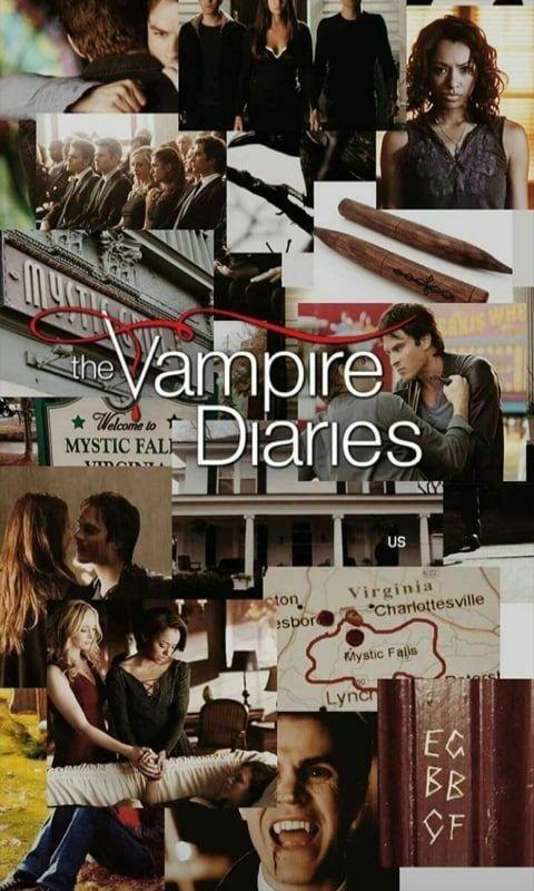 31+ Cool vampire diaries wallpaper Wallpaper