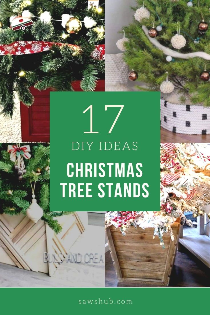 17 Diy Christmas Tree Stand Ideas For The Holiday Season Sawshub Christmas Tree Stand Christmas Tree Stand Cover Diy Christmas Tree