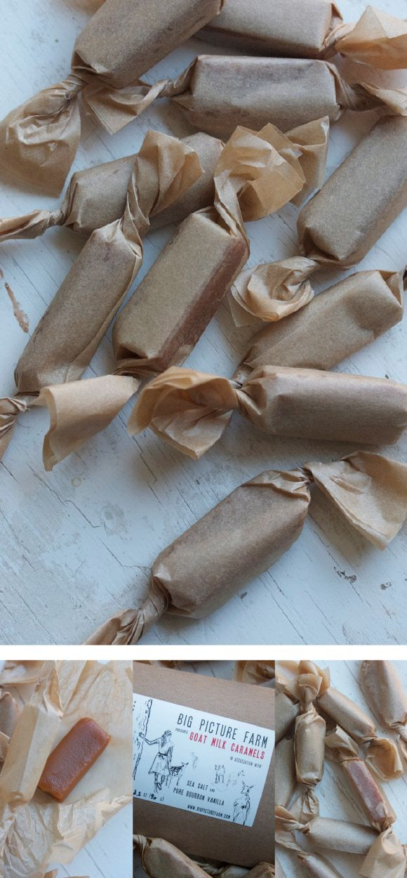 Goat Milk Caramel - need to search up a recipe.