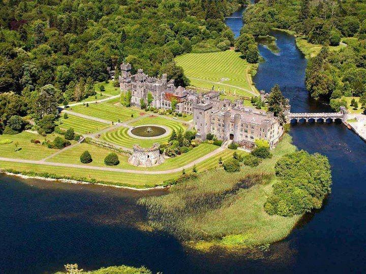 Amazing Ashford Castle , Ireland.  www.iraidaestateagency.com