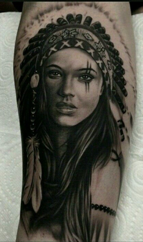 Pin By Nikola On Indian Tattoo Indian Tattoo Indian Girl Tattoos Native American Tattoo
