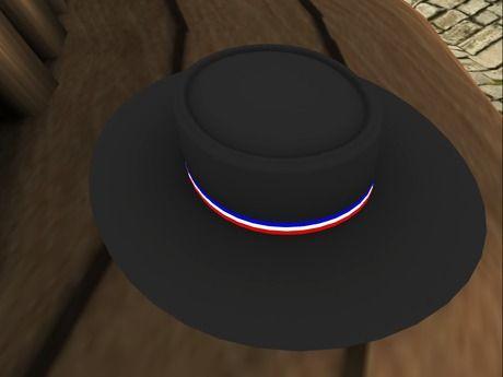 "ML - Black Chilean ""Huaso"" Hat - Sombrero Huaso"
