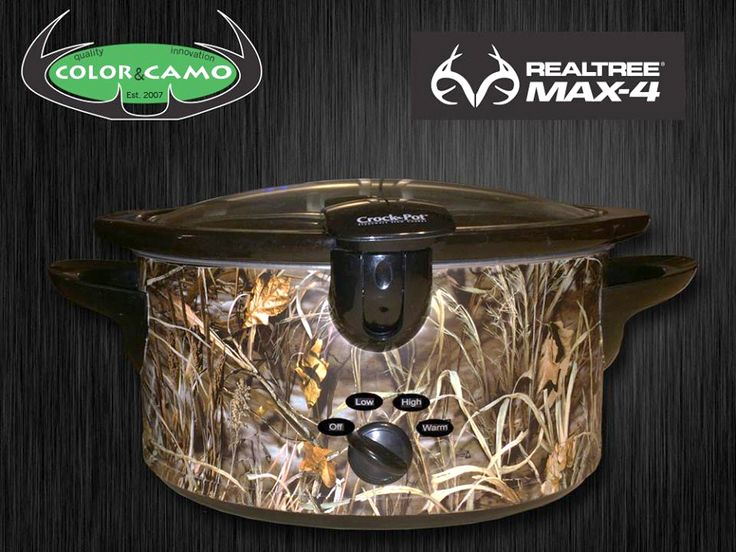 Who wants this #Realtreecamo Crock pot?  #camogear